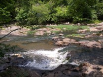 Waterfall on Eno River 2