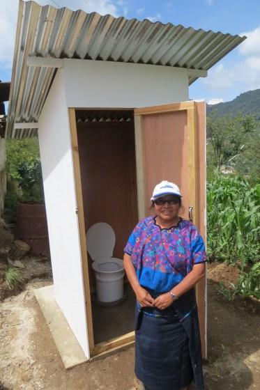 Rosario and latrine