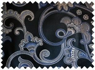 Cobalt Paisley