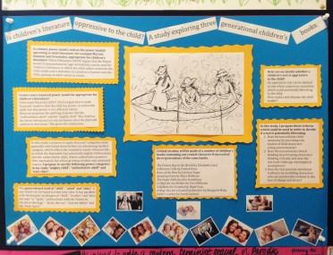 Nicki Oakes-Monger's poster presentation