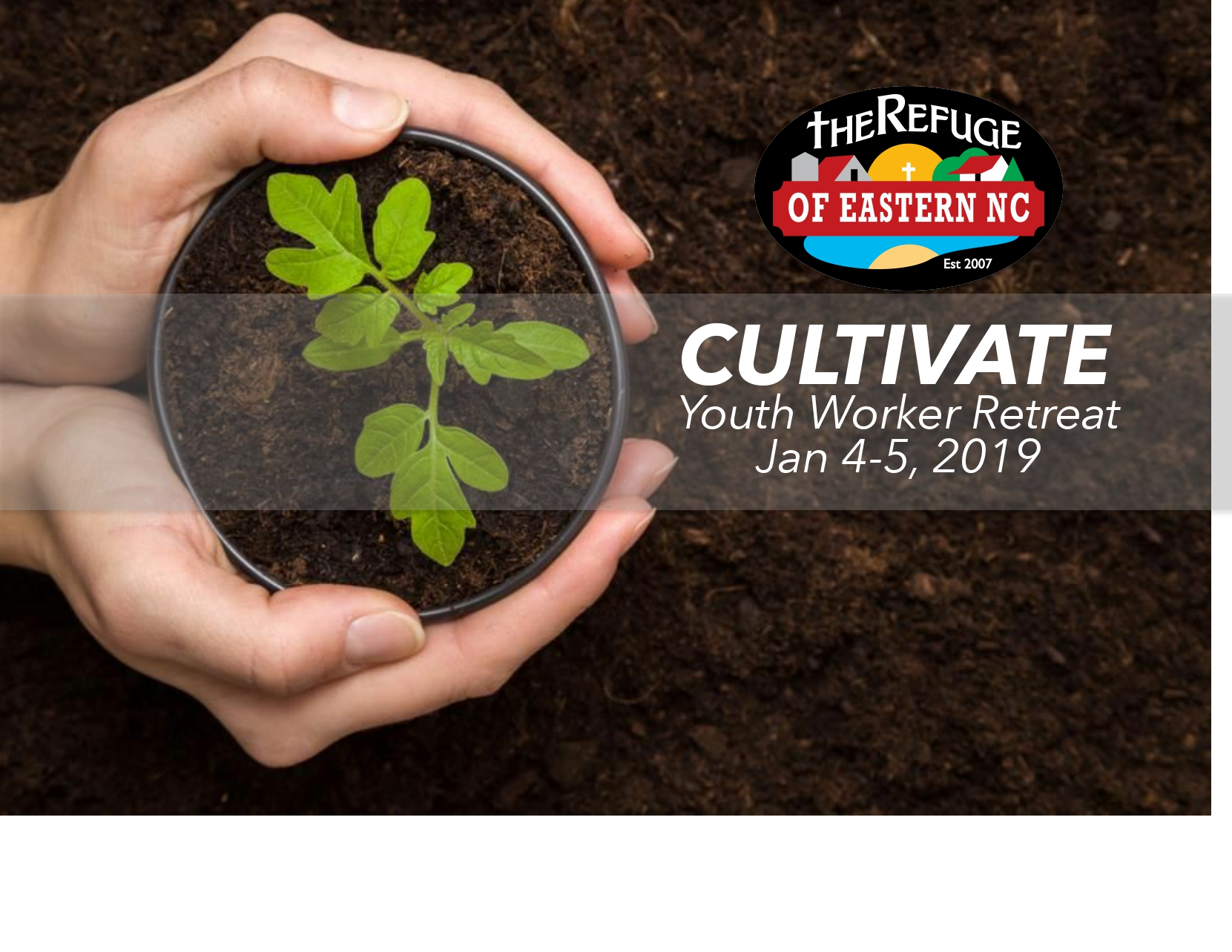 CULTIVATE – Youth Workers Retreat