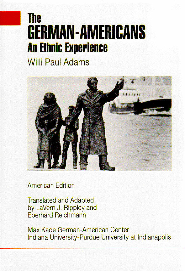 German Americans an Ethnic Experience