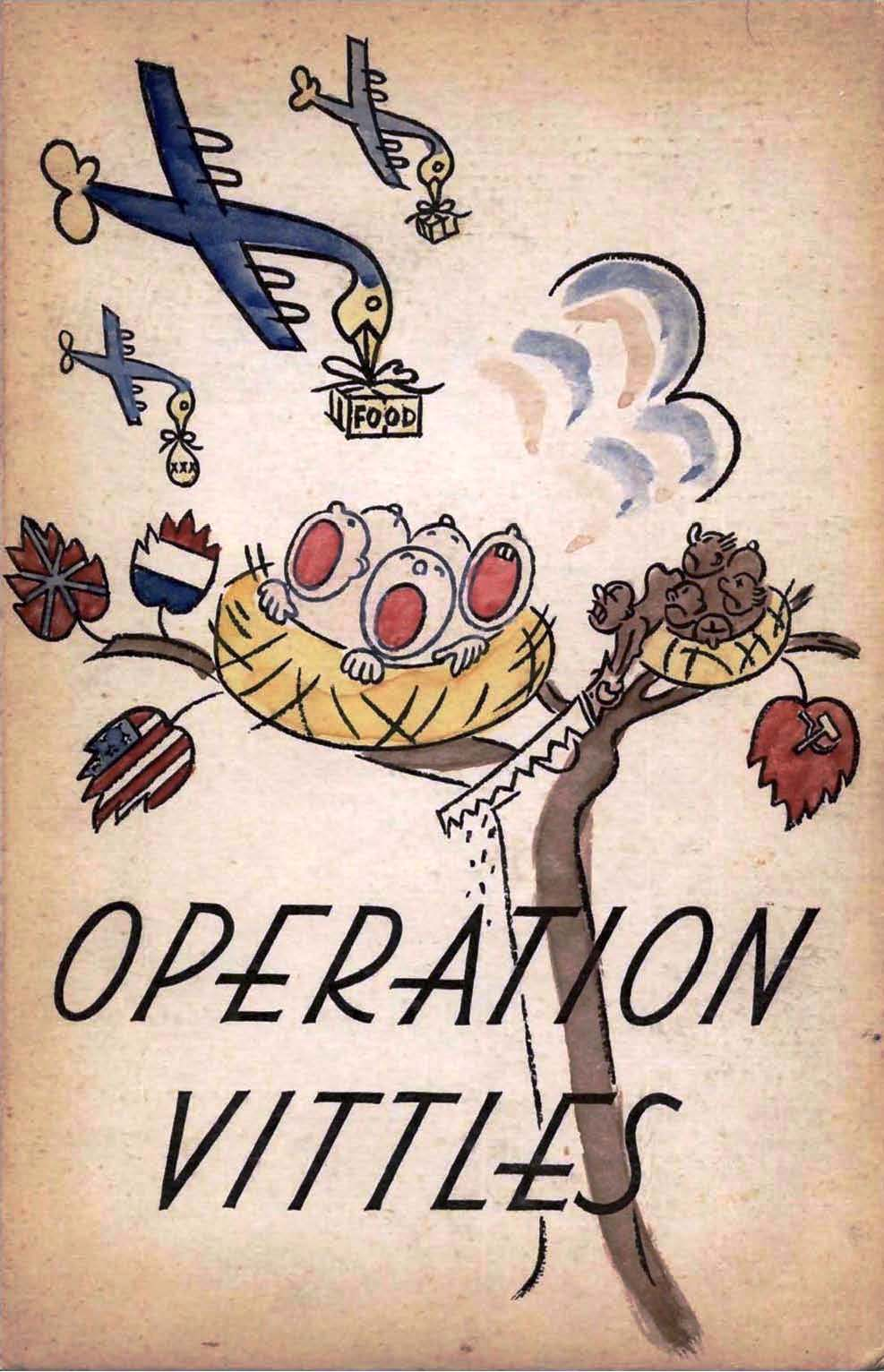 Operation Vittles a cookbook compiled by the American Officers Wives during the Berlin Airlift