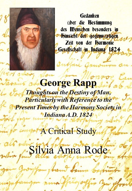 George Rapp. Thoughts on the Destiny of Man