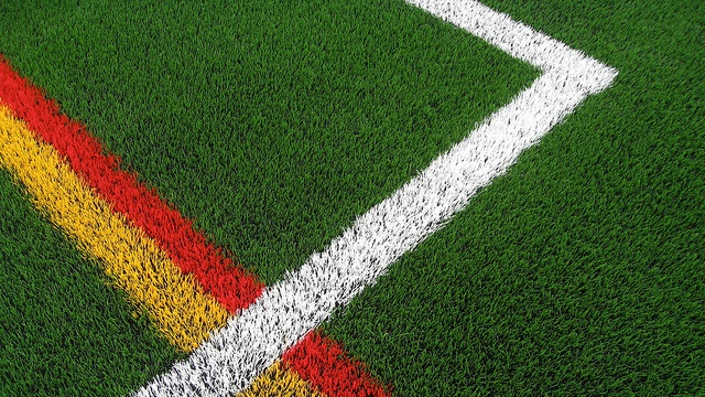 """Should We Install Fields of Artificial or Natural Turf?""  Photo: Lisa Parker/Flickr"