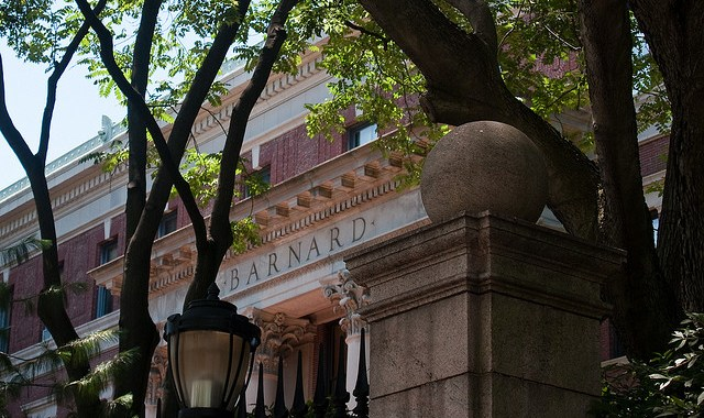Barnard College. Photo credit: Patrick Nelson. No changes were made to the original photo.