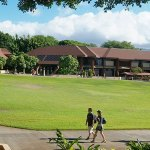 Kapiolani Community College Great Lawn. Photo credit: Louise Yamamoto