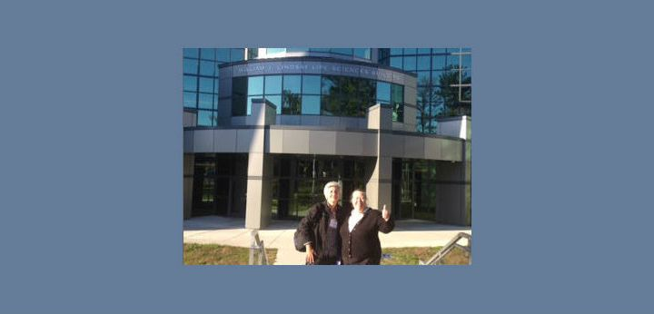 SCI-MidAtlantic Co-Directors Kathy Browne and Monica Devanas at Suffolk County Community College Regional Meeting