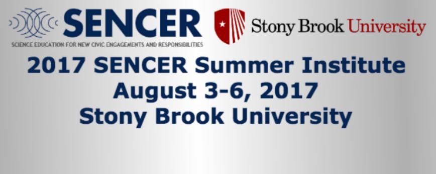 Register to attend the 2017 SENCER Summer Institute!