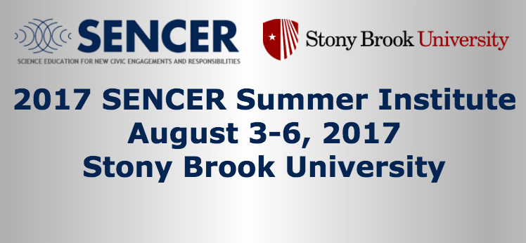 Register to attend the 2017 SENCER Summer Institute!