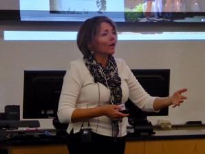 Dr. April Hill, University of Richmond