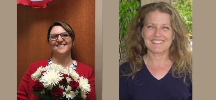 Dr. Nasrin Mirsaleh-Kohan, New SCI-Southwest Co-Director and Ulla Hasager, New SCI-West Co-Director