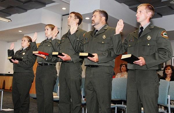 Five State Park Rangers Receive Law Enforcement ...