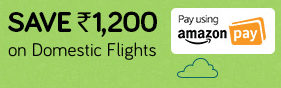 Amazon Pay - Yatra Offer Save Upto Rs.1200 On Flight Ticket Booking
