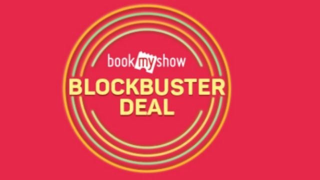 Bookmyshow - Get Upto Rs.100 Discount On Movie Tickets + Get Upto Rs.250 Cashback Using PayZapp