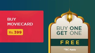 Ramzan Special - Buy 1 Get 1 Movie Card Subscription FREE
