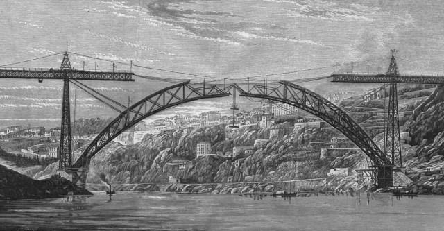 Porto: A insólita inauguração da ponte D. Maria Pia