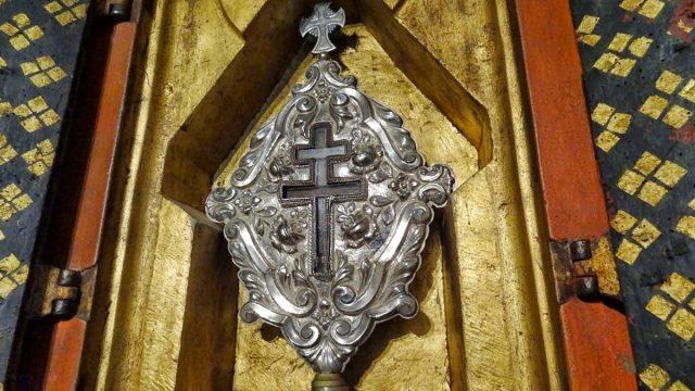 Santo Lenho, fragmento da cruz onde Cristo foi crucificado