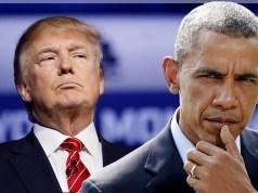 Donald Trump e Barack Obama