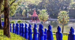 É na Quinta dos Loridos que se encontra o maior jardim oriental da Europa, o impressionante Bacalhôa Buddha Éden