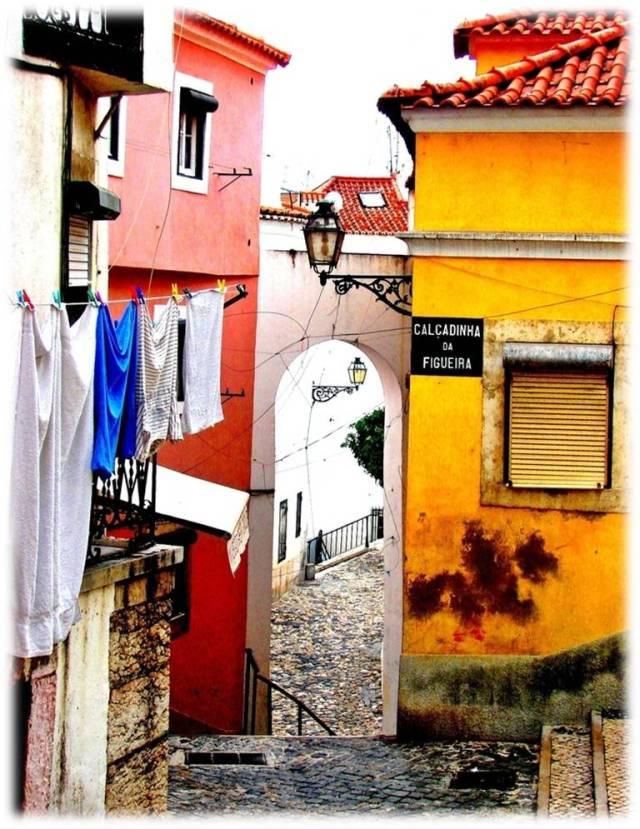 50 das ruas mais bonitas de Lisboa