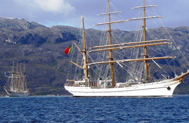 A história do Navio Escola Sagres