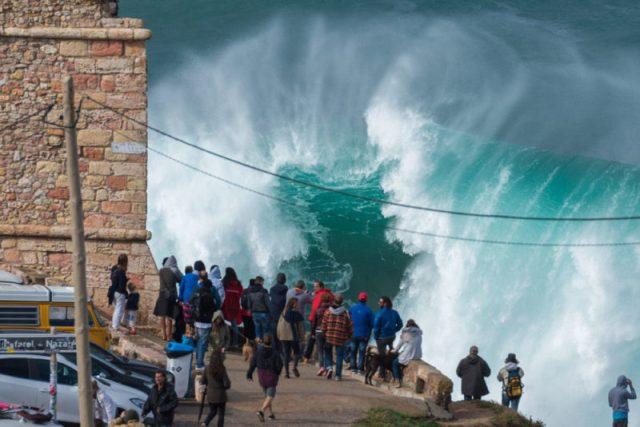 Ondas Gigantes na Nazaré: como se formam?