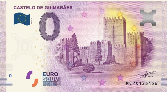 Portugal passa a ter notas de zero euros - 0€