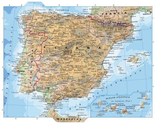 A nossa língua no mapa de Espanha?