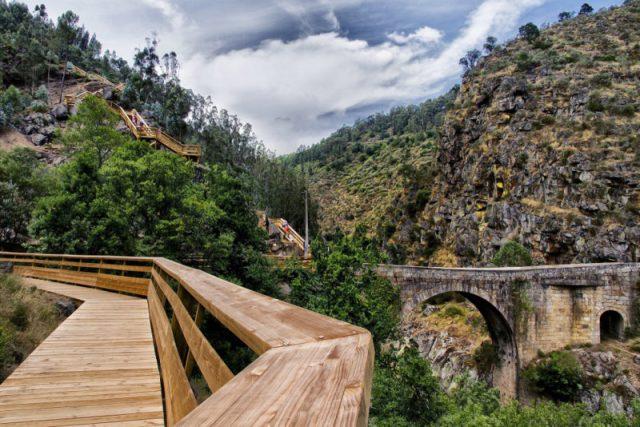 Adrenalina nos Passadiços do Paiva: 480m de piso transparente