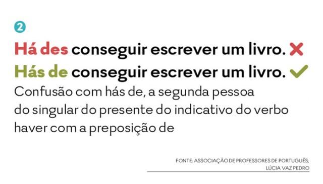 Os 10 erros mais comuns de português