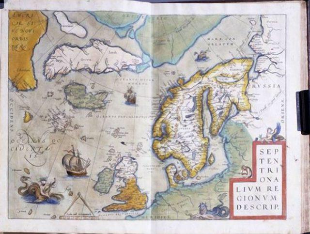 9 Mapas antigos que contradizem a História