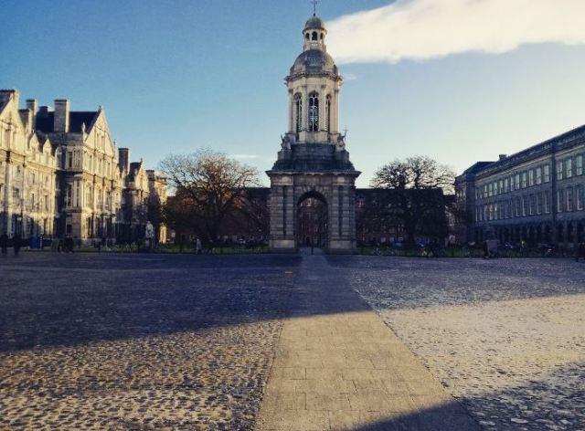 Praça Merrion em Dublin, Irlanda