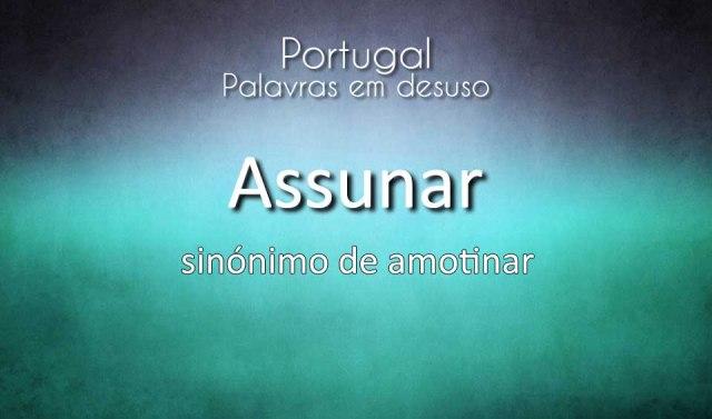 40 Palavras em desuso em Portugal
