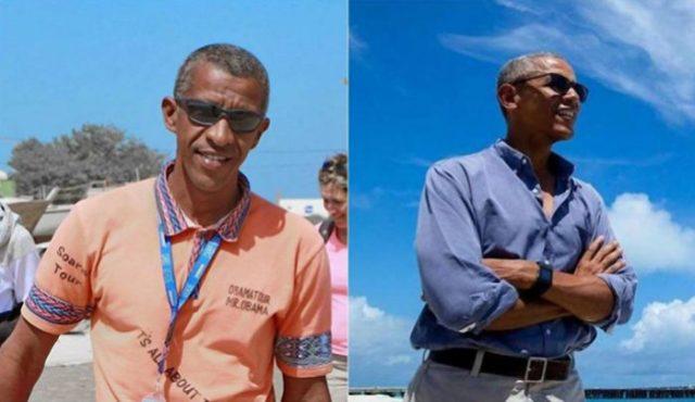 José Oliveira e Barack Obama