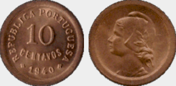 As 40 moedas mais valiosas da República Portuguesa
