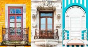 As maravilhosas janelas típicas portuguesas