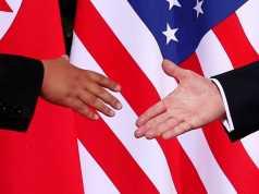 Kim e Trump, as imagens históricas
