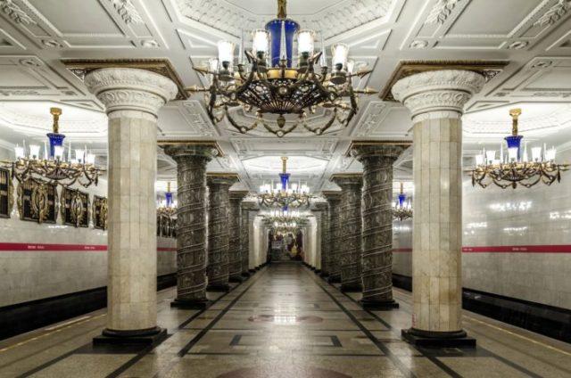 24 Estação de Avtovo, São Petersburgo, Rússia - © Wikimedia Commons