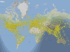 Portugal nem se vê num dos dias mais movimentados na história da aviação