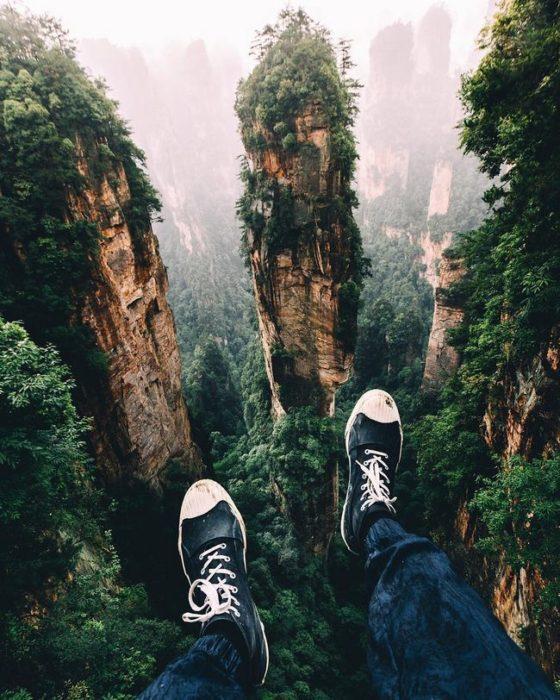 Floresta Zhangjiajie, China