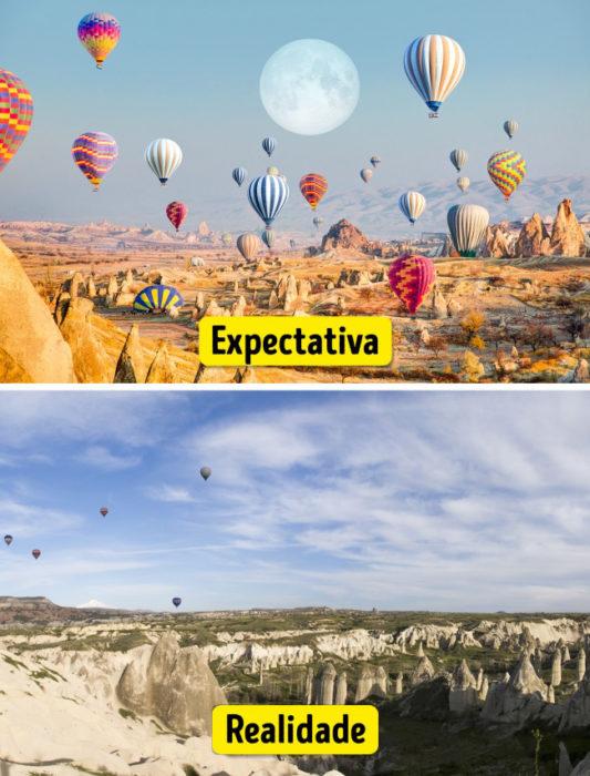 16 Lugares de Sonho: a Expectativa e a Realidade