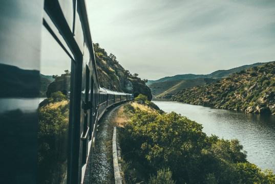 O Comboio de Luxo no Douro