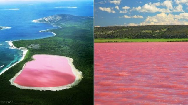 Lago Hiller, Austrália