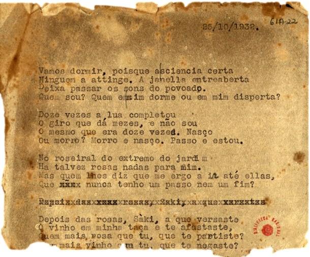 9 Poemas inéditos de Fernando Pessoa