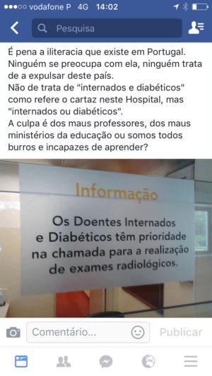 O maior problema da língua portuguesa