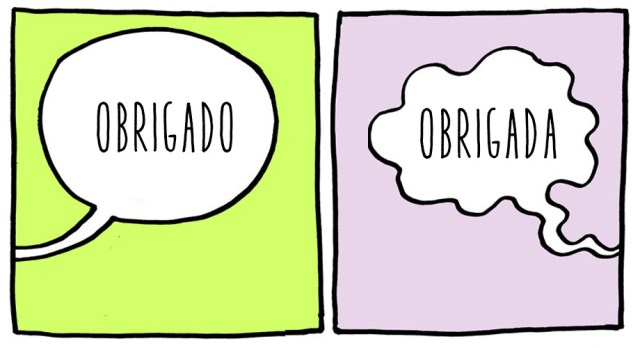 Língua Portuguesa: «Obrigado» ou «Obrigada»?