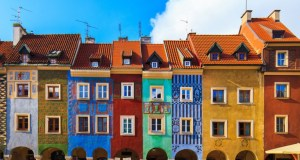 ruas mais coloridas da Europa