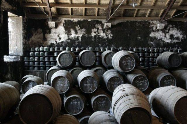 garrafa de vinho do Porto