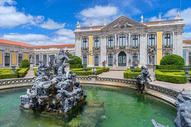 fabulosos palácios de Lisboa e arredores